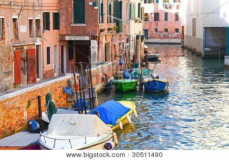 Venetian Canal, Italy