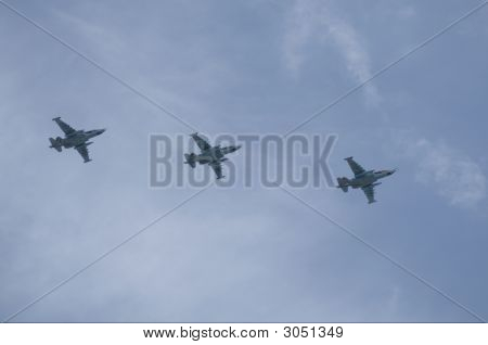 Russian Air Force, 3 Sukhoi Su-25.