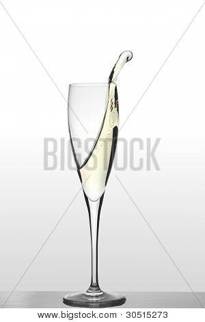 A glass of Prosecco