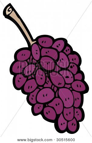 bunch of grapes cartoon