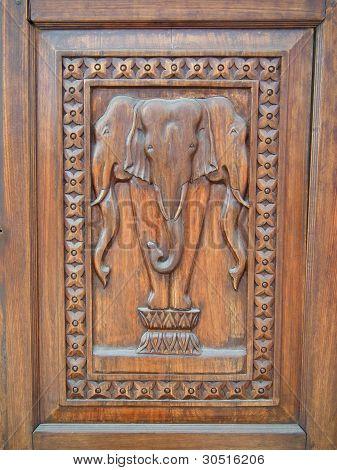 Erawan Elephant Door