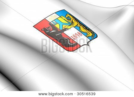 Khabarovsk Coat Of Arms, Russia.