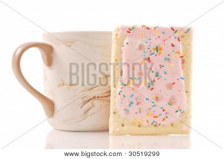 Toaster Pastry With Cup