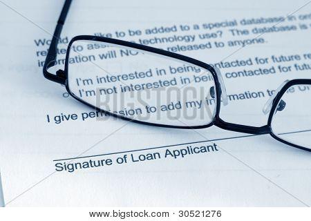 Pedido de empréstimo