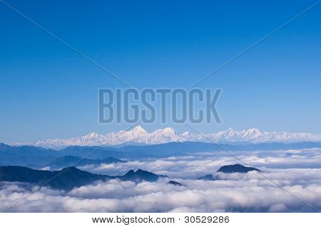 Minya Konka And Sea Of Clouds