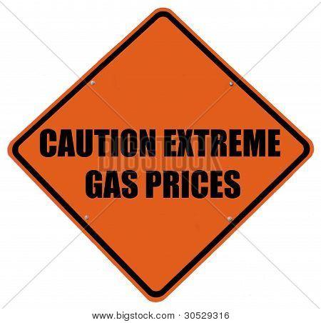 Precios del Gas extrema precaución
