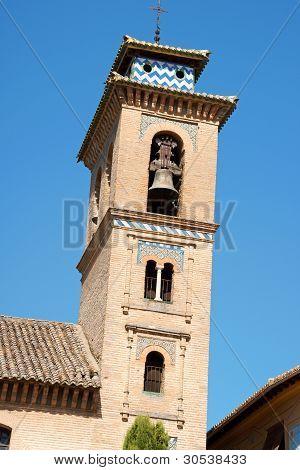 Bell Tower Of San Gil Y Santa Ana Church