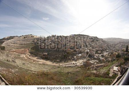 Palästinensische Dorf