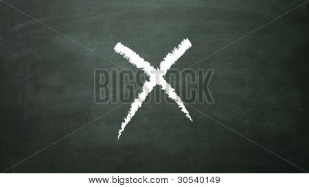 Signage Cross X