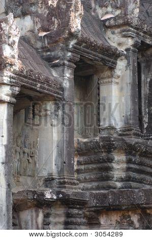 Angkor Columns