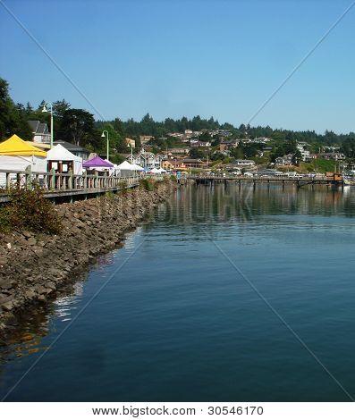 Newport OR Bayfront