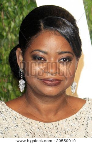 LOS ANGELES - FEB 26:  Octavia Spencer arrives at the 2012 Vanity Fair Oscar Party  at the Sunset Tower on February 26, 2012 in West Hollywood, CA