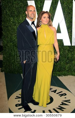 LOS ANGELES - FEB 26:  Edoardo Ponti; Sasha Alexander arrive at the 2012 Vanity Fair Oscar Party  at the Sunset Tower on February 26, 2012 in West Hollywood, CA