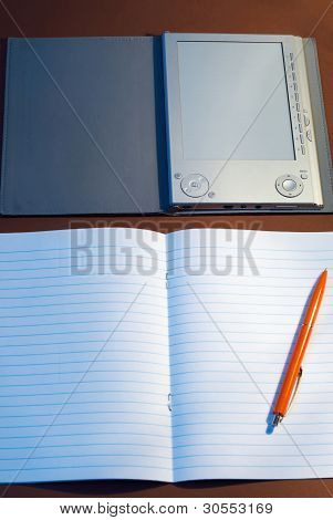 New Lined Exercise Book With E-book