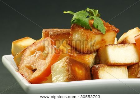 Toasted Paneer Cheese