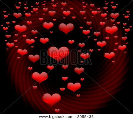 Rain Of Hearts