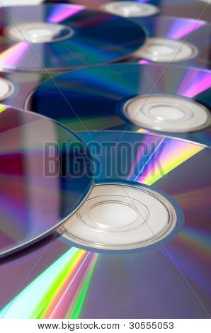 Compact Discs Background