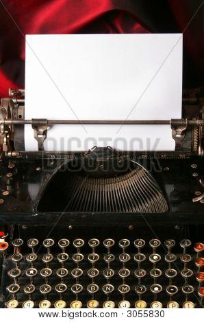 Escritor de tipo antiguo