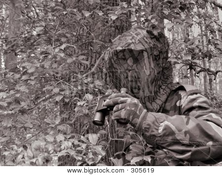 Camouflage Man