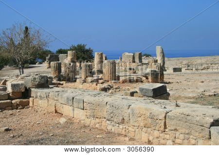 Cyprus - Ruins At Kouklia