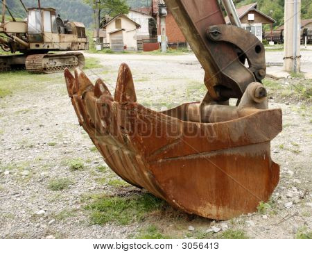 Excavator Grab