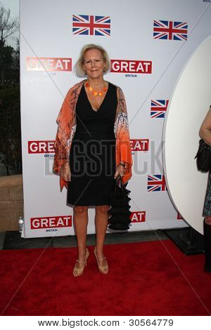 LOS ANGELES - FEB 24:  Phyllida Lloyd arrives at the GREAT British Film Reception at the British Consul General's Residence on February 24, 2012 in Los Angeles, CA.