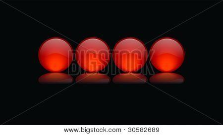 Orange Kugeln