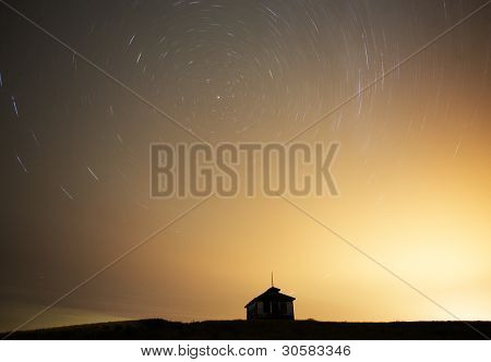 Night Shot Star Trails