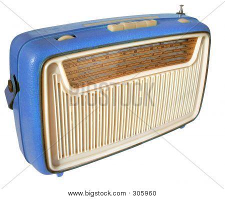 radio de los años 60 (azul)
