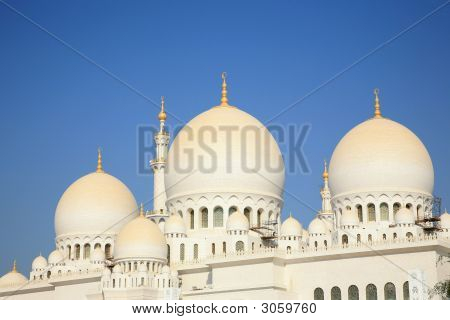 Grand Mosque Ahu Dhabi