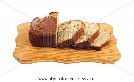 Slices Date Bread Front View