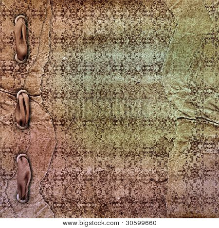The Vintage Paper Background For A Design.