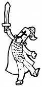 pic of arthurian  - arthurian knight cartoon - JPG