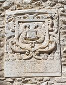 picture of armorial-bearings  - Close up of a coat of arms - JPG