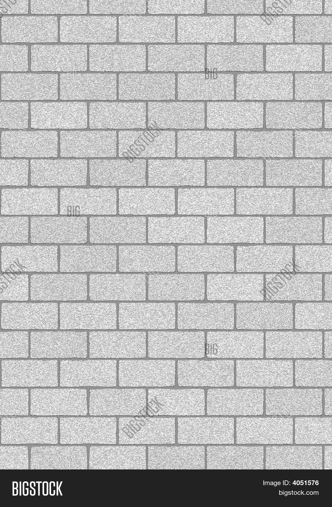 Grey Bricks Background Image Photo