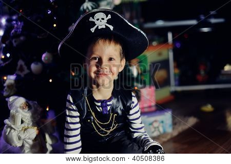 The boy the pirate