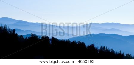 Smoky Mountains Panoramic