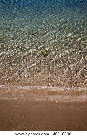 Background Of Sandy Ocean Floor