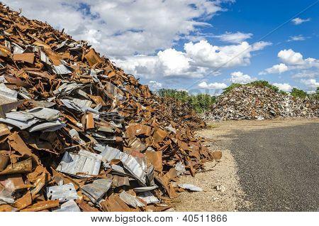 Scrapheap Metal Piles