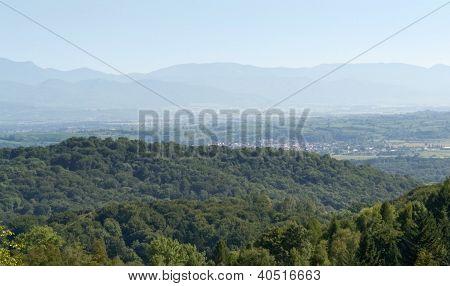Aerial View Around Liliental
