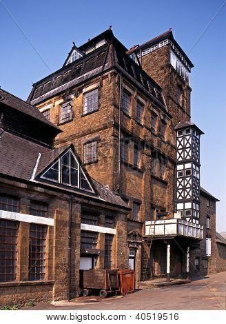 Victorian Tower Brewery, Hook Norton, UK.
