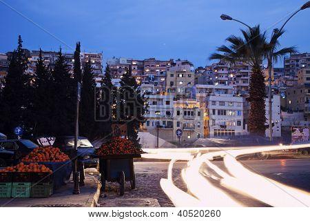 Evening Traffic In Tripoli