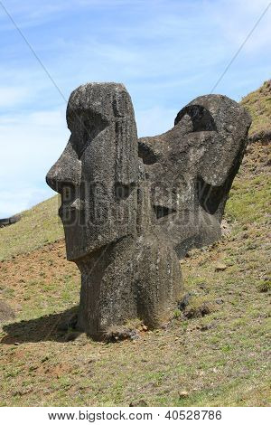 Two Moai