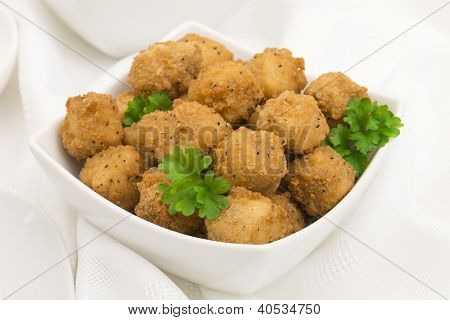 Fried Popcorn Chicken