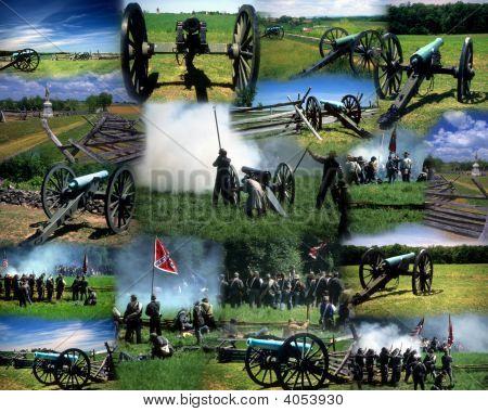 Montage Civil War Gettysburg