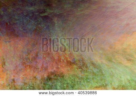 Faíscas de cor flutuante