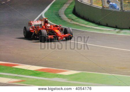 Kimi Raikkonen's Ferrari Car