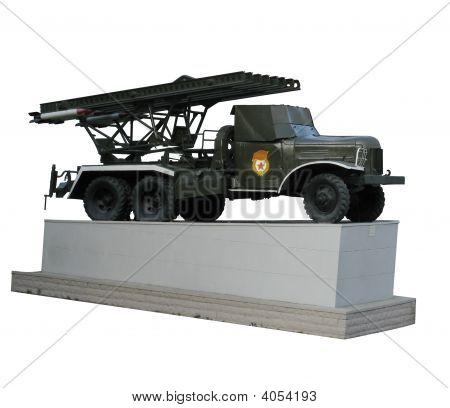 Bm-13 Katyusha Multiple Rocket Launcher