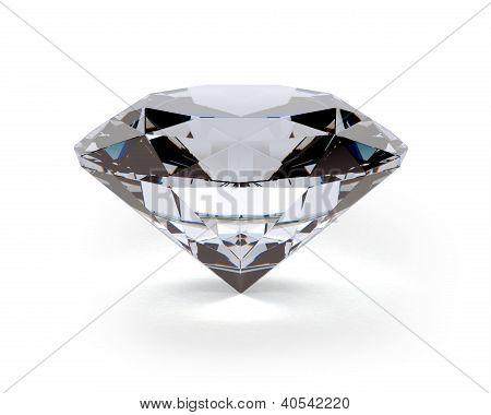 A beautiful sparkling diamond