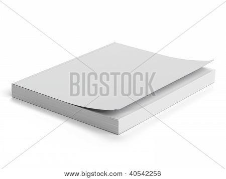 White paperback